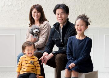 新しい家族写真スタイル